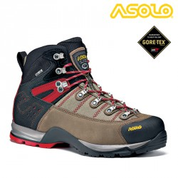 BUTY ASOLO FUGITIVE GTX WOOL/BLACK
