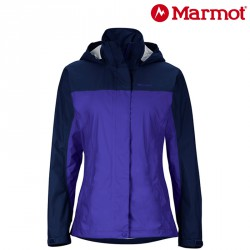Kurtka Marmot PreCip Jacekt woman - jacket royal/arctic navy