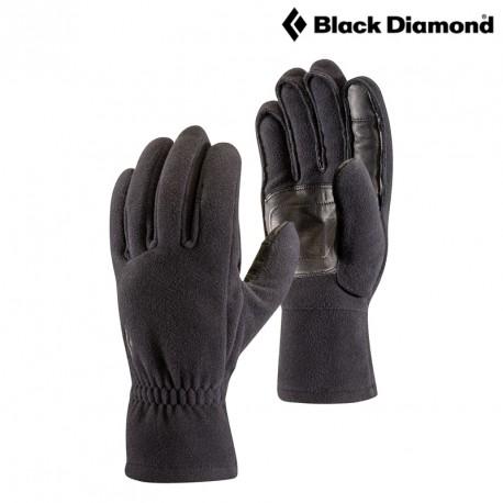 Rękawice Black Diamond MidWeight Windbloc Fleece - black