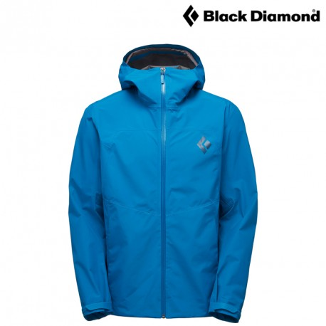 Kurtka Black Diamond Liquid Point Shell - kingfisher