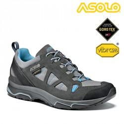 Buty Asolo Megaton GV - graphite/stone/cyan blue