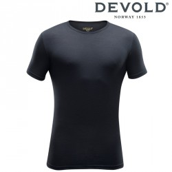 Koszulka Devold Breeze man t-shirt - black