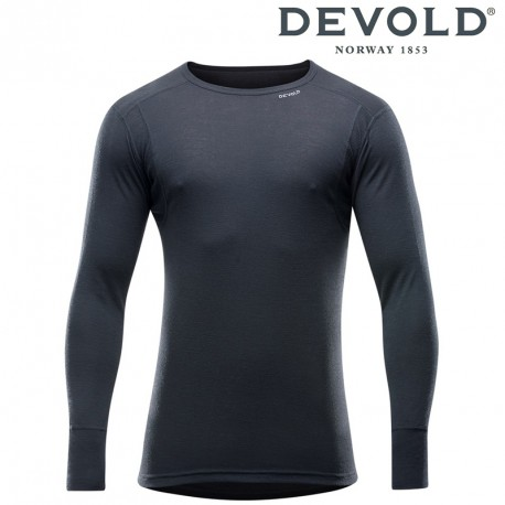 Koszulka Devold Hiking man shirt - black