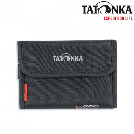 Portfel Tatonka Money Box RFID Block - black
