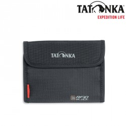 Portfel Tatonka Euro Wallet RFID Block - black