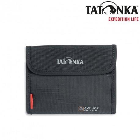 Portfel Tatonka Euro Wallet RFID Block - black
