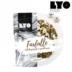 Danie Lyofood Farfalle sosie szpinakowo serowym 500 g