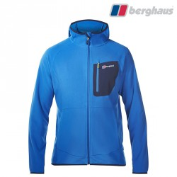 Polar Berghaus Deception Hooded FZ JKT - snorkel blue