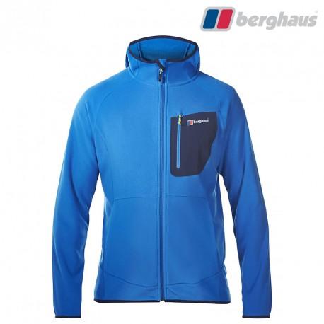 Polar Berghaus Deception Hooded FZ JKT - snorkel blue