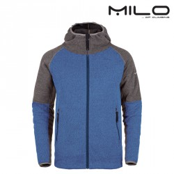 Kurtka polarowa Milo Corte - blue nights/dark grey