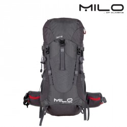 Plecak Milo Safi 45 - grey/burgundy