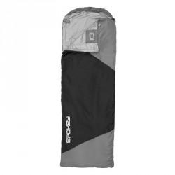 Śpiwór turystyczny Spokey Ultralight 600 II - black/grey