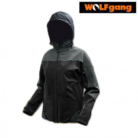 SOFTSHELL WOLFGANG ZEFIR GRAPHIT/BLACK