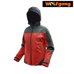 SOFTSHELL WOLFGANG ZEFIR GRAPHIT/RED