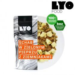 Danie Lyofood Schab w sosie z zielonego pieprzu 370 g