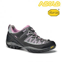 BUTY ASOLO EMBER - WOMAN GRAPHITE/GREY