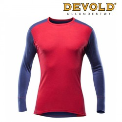 KOSZULKA DEVOLD SPORT MAN SHIRT UNIVERSE/RED
