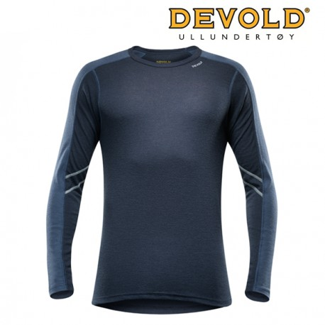 KOSZULKA DEVOLD SPORT MAN SHIRT INK/NIGHT