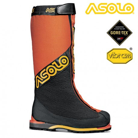 BUTY ASOLO MANASLU GV ORANGE/BLACK