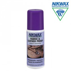 IMPREGNAT NIKWAX FABRIC & LEATHER PROOF 125 ml - GĄBKA