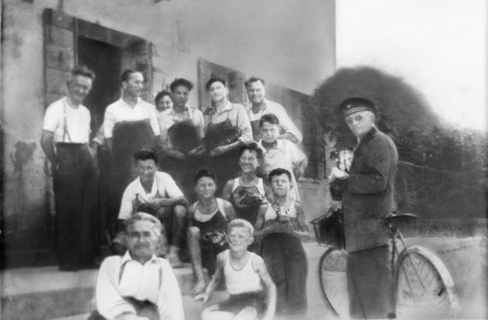 rodzina Zanatta we włoskim Nervesa della Battaglia