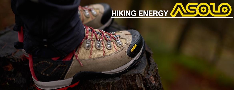 Buty trekkingowe ASOLO z serii Hiking Energy